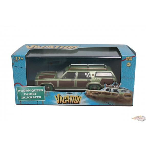 Greenlight 1/43 Truckster Wagon Queen National Lampoon's Vacation (1983) Green Machine Passion diecast