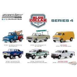 1/64 Blue Collar Collection Series 4  assortment GL-35100 greenlight passion diecast