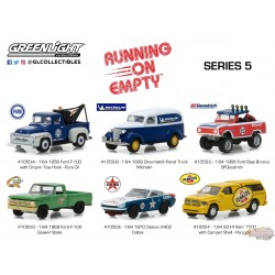 Running on Empty 5  assortiment  Greenlight 1/64 41050 Passion Diecast