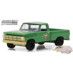 greenlight  1/64  - Running on Empty 5 1969 Ford F-100 Quaker State GL-41050D Passion Diecast