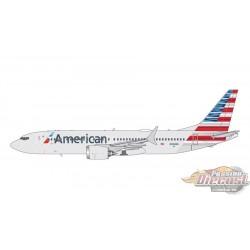 AMERICAN Boeing 737-MAX 8 Reg N324RA  Gemini Jets  1/400 GJAAL1708  Passion Diecast