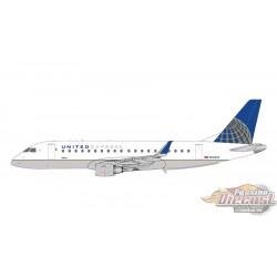 UNITED EXPRESS  ERJ175  REG# N163SY  Gemini Jets  1/400 GJUAL1728  Passion Diecast