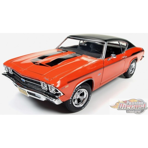 1969 Chevelle 427 Yenko (Supercar LE) Orange with Vinyl Top   CP7466  Passion Diecast