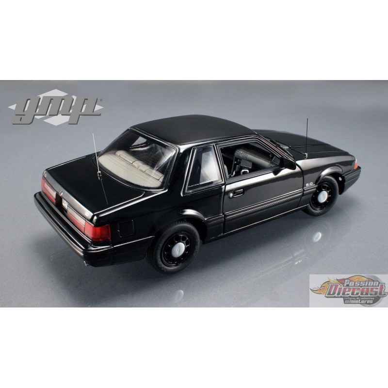 1992 Ford Mustang 5.0 FBI Pursuit Car GMP 1/18 G-18805