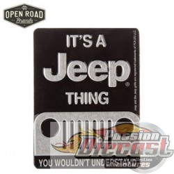AimantIt's A Jeep Thing HBL-1492800  PassionDiecast Open Road