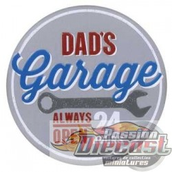 Aimant Dad's Garage  HBL-697300  PassionDiecast Open Road
