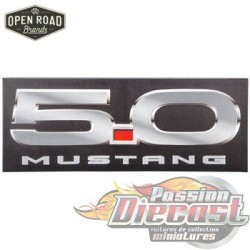 Open Road  HBL-1461805  5.0 Mustang Canvas Wall Decor PassionDiecast