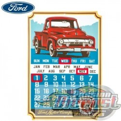 Open Road  HBL-1456565  Ford Truck Calendar Metal Sign Sign PassionDiecast