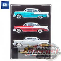 Open Road  HBL-1479633  Chevy Tri-Five Bel Air Metal Sign PassionDiecast