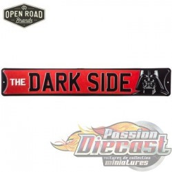Open Road  HBL-1479591  The Dark Side Metal Sign PassionDiecast
