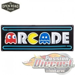 Open Road HBL-1469261 Arcade Pac-Man Metal Sign  PassionDiecast