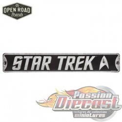 Open Road  HBL-5820204 Star Trek Metal Sign PassionDiecast