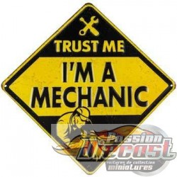 Open Road  HBL-389916 Trust Me I'm a Mechanic Metal Sign PassionDiecast