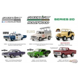 1:64 GreenLight GL-44800 Hollywood Series 20 Assortiment PassionDiecast