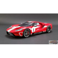 FORD GT 2018 - no 1 HERITAGE EDITION  GT Spirit 1:18   #US008-A  Passion Diecast