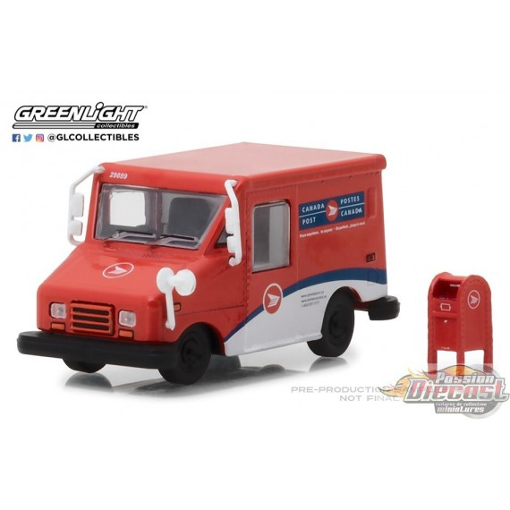 Canada Post  Postal Delivery Vehicle Hobby Exclusive Greenlight 1:64  29889 Passion Diecast