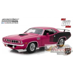 1:18 Highway 61 Parti en Soixante Secondes  Shannon 1971 Plymouth HEMI HW-18006 Passiondiecast