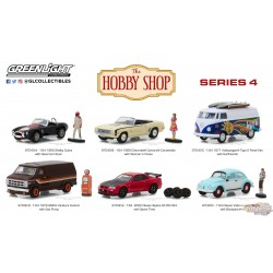 1/64 The Hobby Shop Series 4 assortment GL-97040 GREENLIGHT PASSION DIECAST
