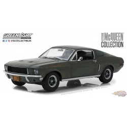 1/18 GREENLIGHT  Steve McQueen Collection (1930-80) - 1968 Ford Mustang GT Fastback  GL-13523 PASSIONDIECAST