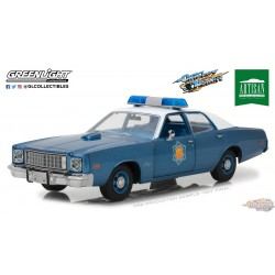 1/18 Greenlight 1-18 1975 Plymouth Fury Arkansas State Police  GL-19044 PASSIONDIECAST