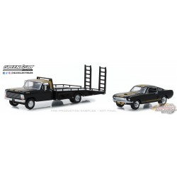 1/64 GREENLIGHT 68 Ford F-350 66 Shelby GL-33130A Passiondiecast