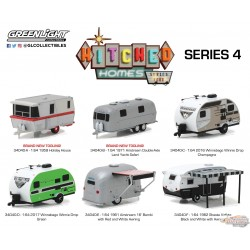 1:64 GreenLight  GL-34040 Hitched Homes Series 4  Assortiment  PASSION DIECAST