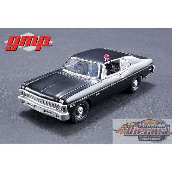 GMP 1:43  1971 Chevrolet Nova Police Hunter (1984-91 TV Series) GL-14309 PASSION DIECAST