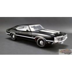 Oldsmobile 442 W-30 1970  Noir 1:18 ACME  A 1805609  Passion Diecast