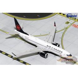 Air Canada Boeing  737 MAX 8  Reg C-FTJV Gemini 1/400 GJACA1709  Passion Diecast