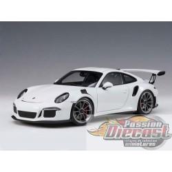 1:18 AUTOART  AA-78166 PORSCHE 911(991) GT3 RS (Blanche/Roues Gris Foncé )  Passion Diecast