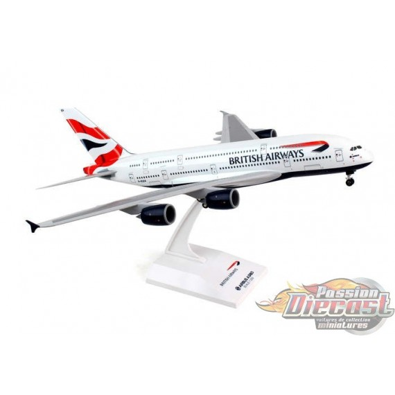 BRITISH AIRWAYS Airbus A380  REG#G-XLEA  SKYMARKS 1/200 SKR652  Passion Diecast