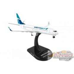 WESTJET  Boeing  737-800 POSTAGE STAMP 1/300 PS5815-1   Passion Diecast