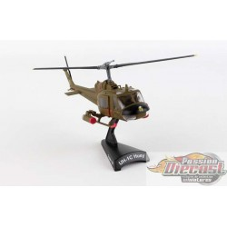 UH-1 HUEY GUNSHIP  US ARMY  1ST CAVALRY DIVISION  POSTAGE STAMP  1/87  PS5601  Passion Diecast