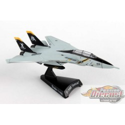 Grumman F-14 Tomcat VF-103 JOLLY ROGERS POSTAGE STAMP PS5383-3  1/160  Passion Diecast