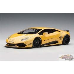 LIBERTY WALK LB-WORKS LAMBORGHINI HURACAN  metallic yellow   Autoart  1/18   AA 79124  Passion Diecast