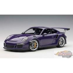 PORSCHE 911(991) GT3 RS ultraviolett 1:18 AUTOART  AA 78169  Passion Diecast