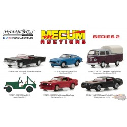 1/64 Mecum Auctions Collector Cars Series 2  assortment GL-37140 greenlight passion diecast