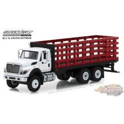 1:64 GreenLight      SD Trucks 5 - 2018 Intl WorkStar Platform Stake Truck GL-45050B PASSION DIECAST