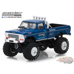 1/64 Bigfoot NO1 The Original Monster Truck 1974 Ford F-250(Hobby Exclusive) GL-29934 GREENLIGHT PASSION DIECAST