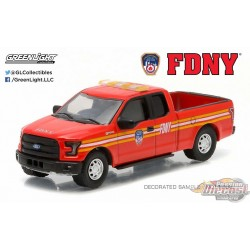 Greenlight 1/64 2015 Ford F150 FDNY Fire Departement Hobby Exclusive GL-29833 Passion Diecast