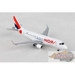 HOP!   Air France Embraer ERJ-170   F-HBXE  Herpa Wings  1/400 562621  Passion Diecast