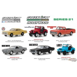 1/64 Hollywood Series 21 Assortiment greenlight 44810 Passion Diecast