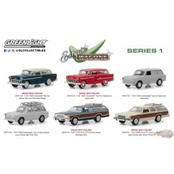 1:64 GreenLight Estate Wagons Series 1 assortimentPASSION DIECAST   GL-29910