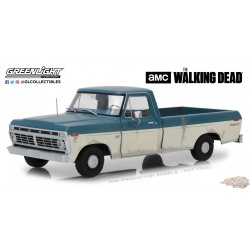 1/18 The Walking Dead (2010-Current TV Series) - 1973 Ford F-100 GL-12956 GREENLIGHT PASSION DIECAST