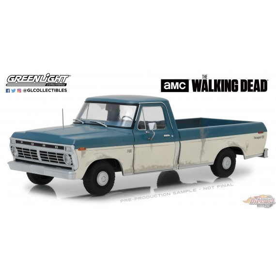 1/18 The Walking Dead (2010-Current TV Series) - 1973 Ford F-100 12956 GREENLIGHT PASSION DIECAST