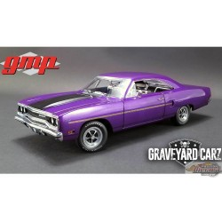 1/18 1970 PLYMOUTH ROAD RUNNER GRAVEYARD CARZ GMP 18897 Passion Diecast