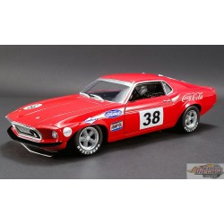 1969 FORD BOSS 302 TRANS AM MUSTANG - ALLAN MOFFAT No 38 ACME  A1801828 Passion Diecast