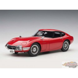 1/18 TOYOTA 2000GT (Rouge)  Autoart 78751 Passion DIecast
