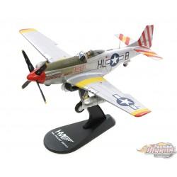 North American P-51D Mustang USAAF 31st FG  John Voll,Hobby Master HA7739 Passion Diecast