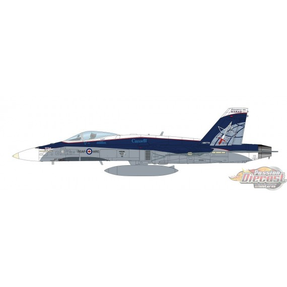 McDonnell Douglas CF-188 Hornet Diecast Model RCAF , NORAD 60th Anniversary Hobby master: 1/72  HA3542  Passion Diecast